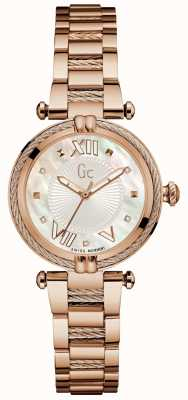 Gc Womans cablechic precious analog analog rose gold Y18114L1
