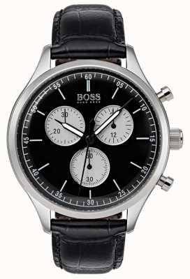Boss Montre chronographe compagnon pour homme noir 1513543
