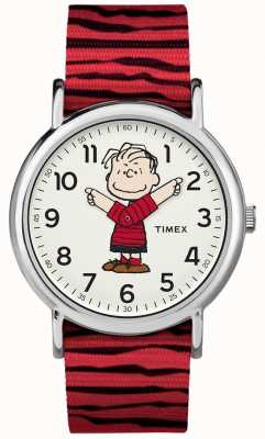 Timex Arachides Weekender sangle rouge de linus TW2R412006B
