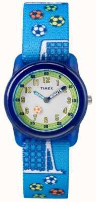 Timex Jeunesse analogique bracelet bleu TW7C165004E