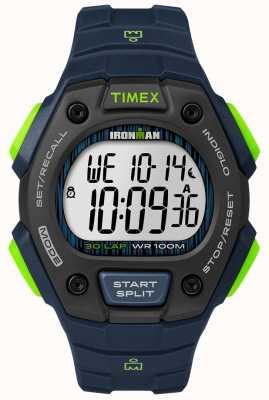 Timex Ironman classic 30 fs noir et citron vert TW5M11600D7PF