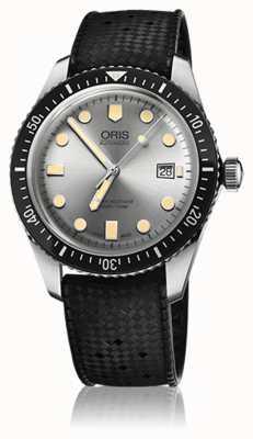 Oris Mens divers soixante cinq montre bracelet en caoutchouc 01 733 7720 4051-07 4 21 18