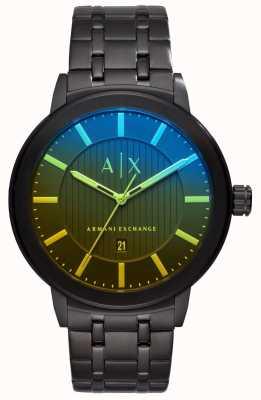 Armani Exchange Bracelet en acier inoxydable maddox pour homme AX1461