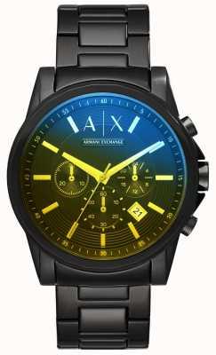 Armani Exchange Bracelet en acier inoxydable Outerbanks pour homme AX2513