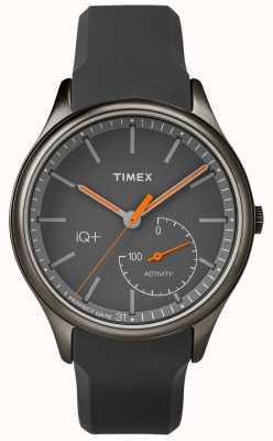 Timex Bracelet homme iq plus move gris en silicone TW2P95000