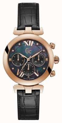 Gc Womens ladybelle sport 2 rose ton or montre Y28004L2