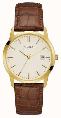 Guess Camden Mens robe date montre or W0998G3