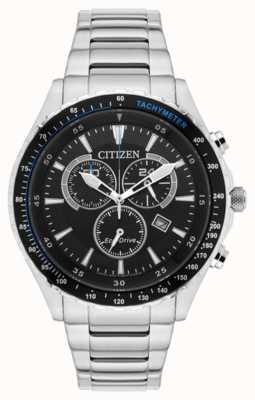Citizen Chronographe eco-drive en acier inoxydable AT2381-59E