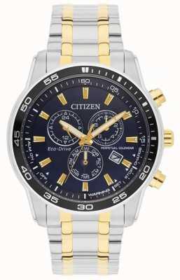Citizen Hommes | eco-drive | montre en acier inoxydable et cadran noir ip or BL5514-53L