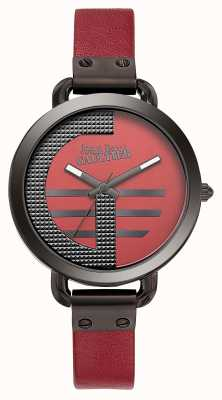 Jean Paul Gaultier Bracelet en cuir rouge pour index avec index pour femme JP8504321