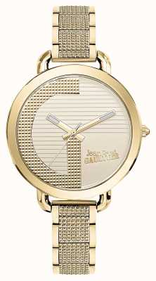 Jean Paul Gaultier Womens index g or pvd bracelet or cadran JP8504322