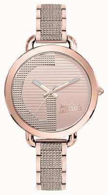Jean Paul Gaultier Womens index g or rose bracelet pvd or rose cadran JP8504323