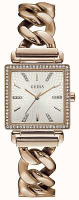 Guess Womans vanity montre rose ton or W1030L4