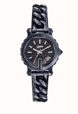 Jean Paul Gaultier Womens point g - montre mini pvd bleu JP8503601