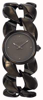 Jean Paul Gaultier Womens maxi chaine gun métal bracelet et cadran JP8504604