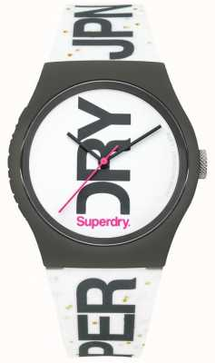 Superdry Montre silicone blanche unisexe SYL189WB