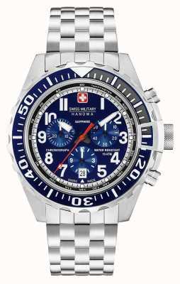 Swiss Military Hanowa Mensuel touchdown chronographe marine 06-5304.04.003