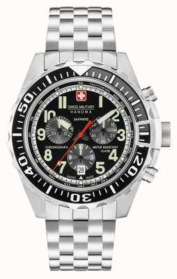 Swiss Military Hanowa Chronographe touchdown noir 06-5304.04.007