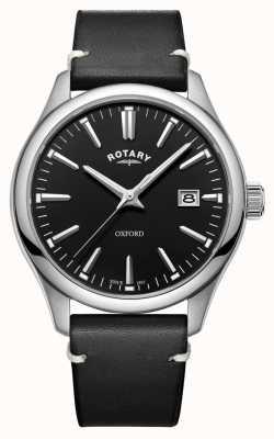 Rotary Montre à quartz en acier inoxydable noir oxford pour homme GS05092/04