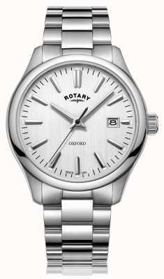 Rotary Montre bracelet en acier inoxydable oxford pour homme GB05092/02