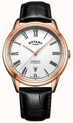 Rotary Cambridge homme rose or automatique GS05252/01