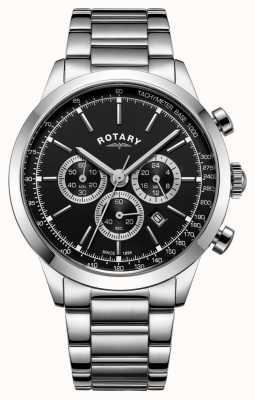 Rotary Chronographe cambridge pour homme en acier inoxydable GB05253/04