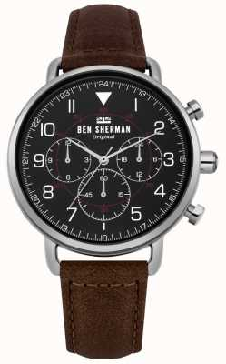 Ben Sherman Montre chronographe militaire portobello pour homme WB068BBR