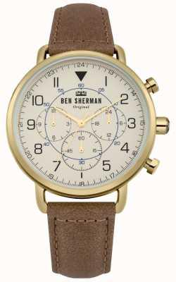 Ben Sherman Montre chronographe militaire portobello pour homme WB068WT