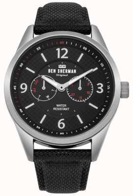 Ben Sherman Grande montre d'utilité de carnaby de Mens WB069BB