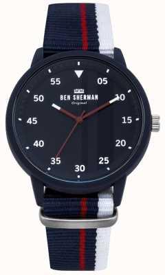 Ben Sherman Montre bleue pour homme WB076U