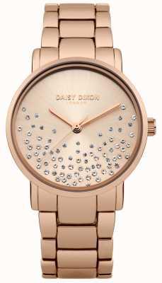 Daisy Dixon Bracelet en or rose avec cadran soleillé or rose DD053RGM