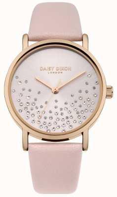 Daisy Dixon Bracelet nude soleil nude avec cadran pailleté DD053CRG