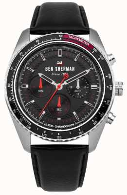 Ben Sherman Le chronographe ronnie sunray cadran rehauts de rouge WBS108RB