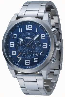 Timberland Bracelet en acier inoxydable Tiffen bleu multi-cadran 15247JS/03M