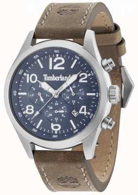 Timberland Bracelet en cuir marron multicolore Ashmont bleu 15249JS/03