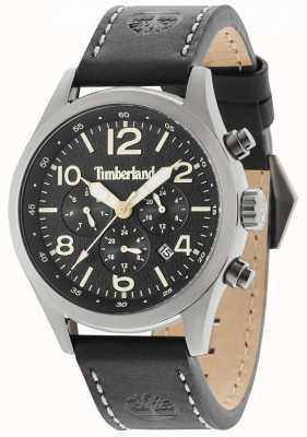 Timberland Bracelet en cuir noir Ashmont noir multi 15249JSU/02