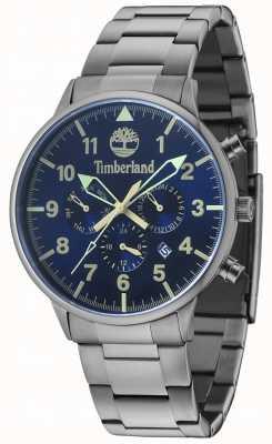Timberland Bracelet en métal thermoformé bleu avec plusieurs cadrans Spaulding 15263JSU/03M