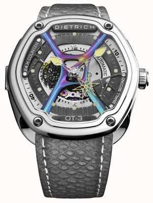 Dietrich Bracelet en acier inoxydable, boîtier en acier inoxydable, gris OT-3_SHINE