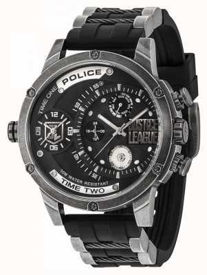 Police Justice league édition limitée montre concessionnaire édition 14536EDG