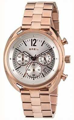 Breil Cadran en acier inoxydable ipr chronographe Beaubourg TW1674