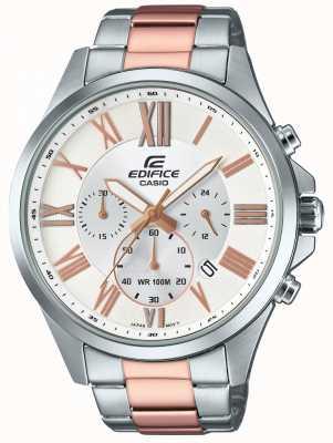Casio Homme chronographe deux tons chronographe EFV-500SG-7AVUEF