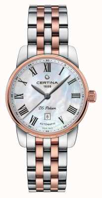 Certina | ds podium | dame automatique | bracelet deux tons | C0010072211300