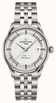 Certina Mens ds-1 powermatic 80 montre automatique C0298071103160