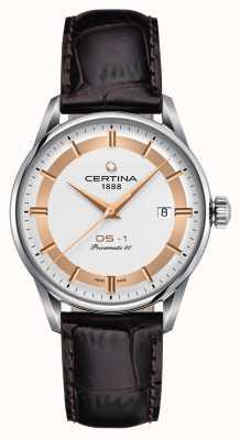 Certina Mens ds-1 powermatic 80 himalaya édition spéciale montre C0298071603160