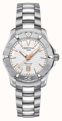 Certina Womens ds action 300m regarder C0322511101101