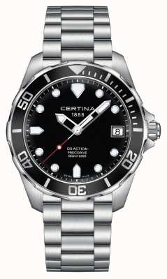 Certina Mens ds action precidrive 300m regarder C0324101105100