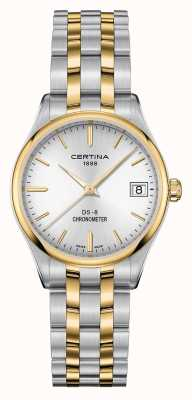 Certina Womens ds-8 quartz chronomètre montre C0332512203100
