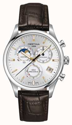 Certina Montre homme chronographe ds-8 precidrive moonphase C0334501603100