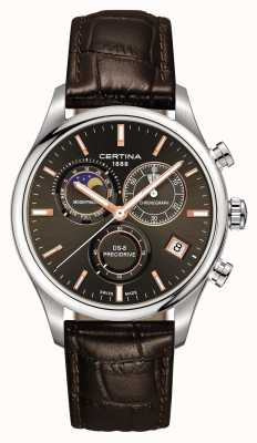 Certina Montre homme chronographe ds-8 precidrive moonphase C0334501608100