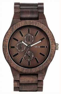 WeWood Kos choco gun | bracelet en bois | Ex affichage 70105516EX-DISPLAY